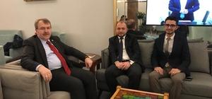 AK Parti heyetinin Ankara ziyaretleri