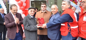 """Bafra'da """"Kızılay Kal Alma Birimi"""" açıldı"""