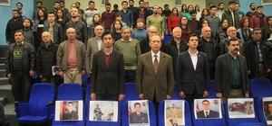 """PAÜ'de """"Vatan Savaşında Afrin Harekatı"""" paneli yapıldı"""