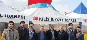 Üniversite öğrencilerinden Afrin şehidinin mezarına ziyaret