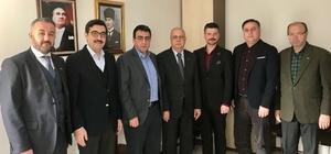 Manisa MÜSİAD Başkanı Ürper'den Katıöz'e tebrik ziyareti