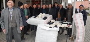 """""""Çorap ören erkekler"""" Afrin'deki askerler için ilmek attı"""