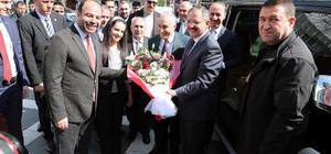 Bakanlar Özhaseki ve Fakıbaba Şanlıurfa'da
