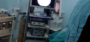 Derik'te kapalı diz ve omuz ameliyatı yapıldı