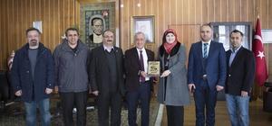 Tabarak Uluslararası Akademi İş Birliği İçin Atatürk Üniversitesinde