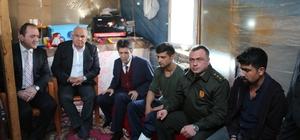 Başkan Tollu'dan Afrin gazisine ev sözü