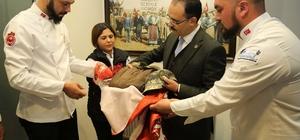 Başkan Cahan'a Afrin'den Büyük Emanet