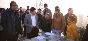 İlbade Mahallesi üst yapı çalışmalarında sona yaklaşıldı
