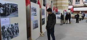 Bayburt'ta Ermeni Mezalimi''  konulu fotoğraf sergisi Yakutiye Cami bahçesine taşındı