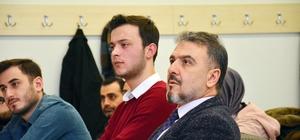Esenyurt Belediye Başkanı, üniversite öğrencileri ile derse katıldı