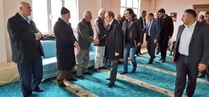 Başkan Epcim'den Koç ailesine taziye ziyareti
