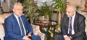 Ekonomi Bakanlığı heyetinden Vali Güvençer'e ziyaret