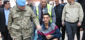 Afrin gazisine Muş'ta karşılama