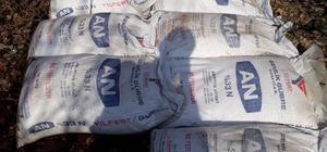 Bitlis'te 450 kilo amonyum nitrat ele geçirildi