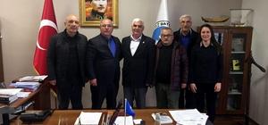 aşkan Uçar, İYİ Parti ilçe yönetimini ağırladı