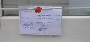 İnebolu'da adliye binası inşaatı ve kız yurdu inşaatı mühürlendi