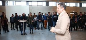AGÜ'de Sanayi Odaklı Öğrenci Projeleri Fuarı düzenlendi