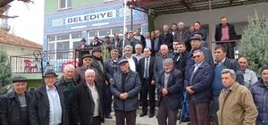 Mehmetçiğe bağış yapan köye teşekkür ziyareti