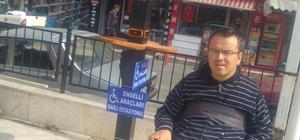 Simav'da engellilere mobil şarj istasyonu