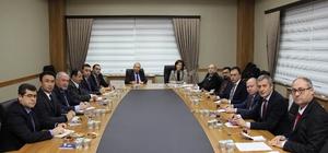 TÜB Meslek Yüksekokulları Koordinatörleri toplantısı