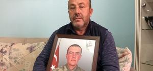 Afrin şehidinin babası oğlunu gözyaşlarıyla anlattı