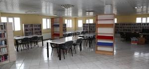 Cizre'de Halk Kütüphanesi yenilenerek hizmetine sunuldu