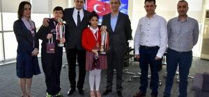 Aliağa'nın küçük satrançılarından büyük başarı