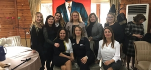Türk Kadınlar Birliği kahvaltıdan elde ettiği geliri Mehmetçik Vakfına bağışladı