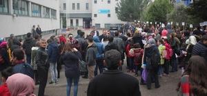 TED Kolejinde 'Tam Eğitim Bursluluk' sınavında 554 öğrenci ter döktü