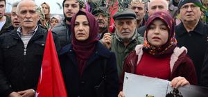 Giresun'da Zeytin Dalı Harekatı'na destek yürüyüşü