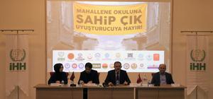 İHH'den Balkanlarda uyuşturucuyla mücadeleye destek