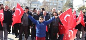 Zeytin Dalı Harekatı'na din görevlilerinden manevi destek