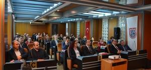 konomi Bakanlığı, AYTO'da ihracatçılarla bir araya geldi