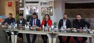 Ceritoğlu, AK Partili gençlerle buluştu