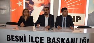 """Başkan Kılınç: """"Besni'yi hizmete boğacağız"""""""