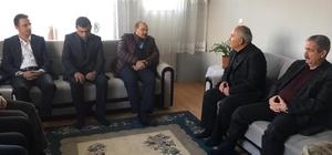 Bitlis Valisi Ustaoğlu şehit ailelerini ziyaret etti