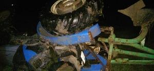 Saruhanlı'da traktör kazası: 1 ölü