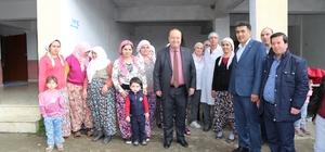 Başkan Özakcan, Zeytinköy Mahallesini ziyaret etti