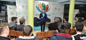 Başkan Doğan, gençlerden spor yapmalarını istedi