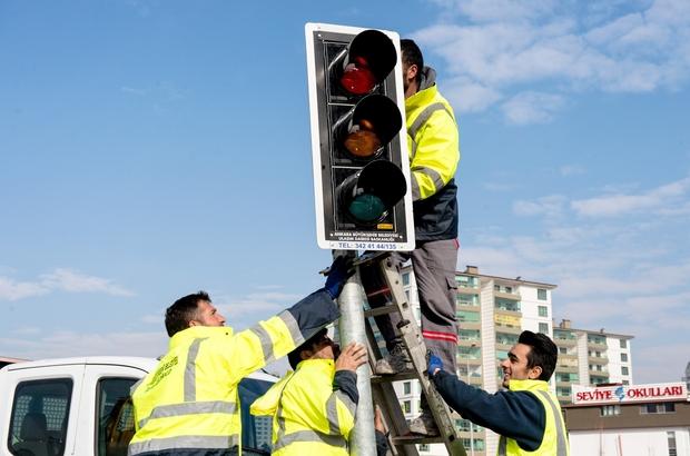 Başkent'te 70 kavşağa sinyalizasyon sistemi kuruluyor