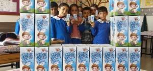 Siirt'te okullarda süt dağıtımı devam ediyor