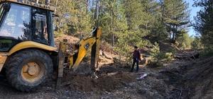 Kırık Barajında yeni içme suyu arıtma tesisiyle ilgili araza çalışmaları başladı