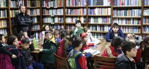 Faik Baysal Kütüphanesi minik okurları ağırlamaya devam ediyor