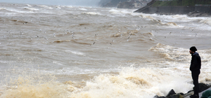 Batı Karadeniz'de kuvvetli rüzgar ve yağış