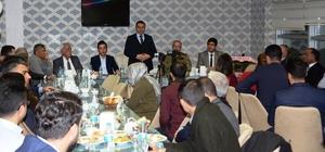 Erciş Kaymakamı Yaşar, STK ve oda temsilcileriyle bir araya geldi