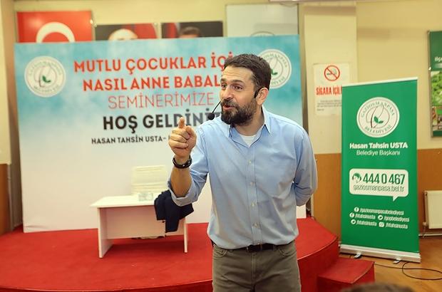 Gaziosmanpaşa'da Mutlu Çocuklar İçin Gerçek Anne Babalık Semineri