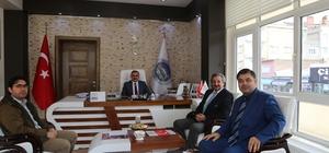 Başkan Cabbar ilçedeki kurumları ziyaret etti