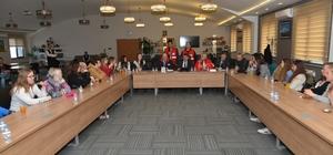 Melikgazi Belediyesi yabancı öğrencileri ağırladı