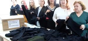 Çankayalı kursiyerlerden Mehmetçik'e destek