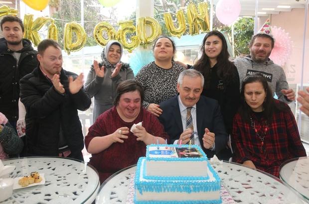 ESER'in özel öğrencilerine özel kutlama